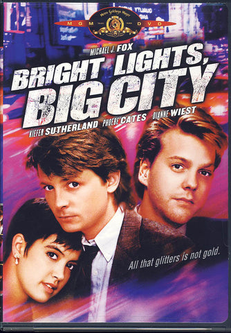 Bright Lights, Big City (MGM) DVD Movie