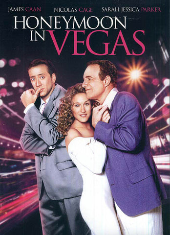 Honeymoon in Vegas (Black Cover) DVD Movie