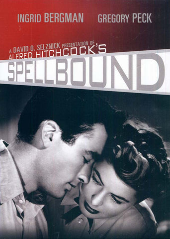 Spellbound (Ingrid Bergman) (Black / Red Cover) (MGM) DVD Movie