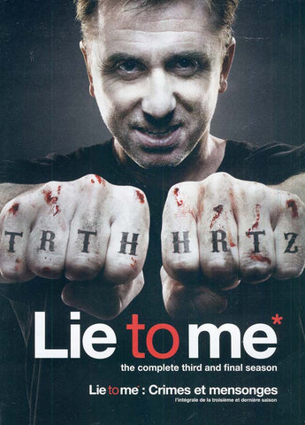 Lie to Me - Season Three (Bilingual) (Boxset) DVD Movie