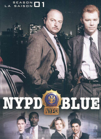 NYPD Blue - Season 1 (3 Slim Cases)(Bilingual) (Boxset) DVD Movie