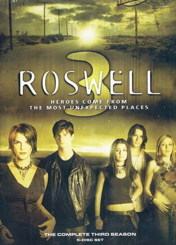 Roswell - The Complete Third (3) Season (Boxset) DVD Movie