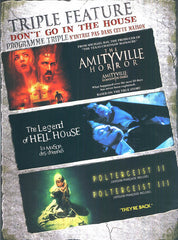 The Amityville Horror / The Legend of Hell House/ Poltergeist II and III (Bilingual)