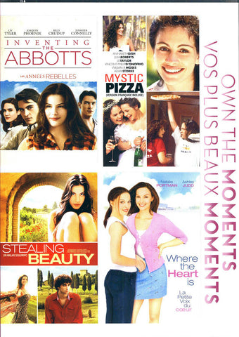 Inventing The Abbotts /Mystic Pizza/Stealing Beauty/Where The Heart Is (Boxset)(Bilingual) DVD Movie