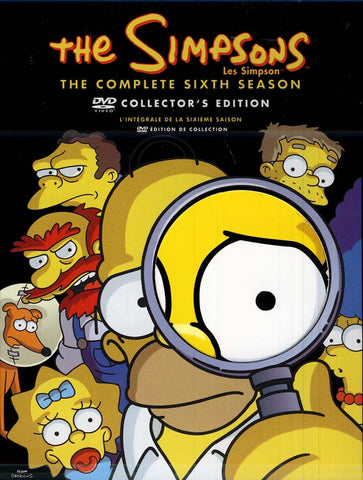 The Simpsons / Les Simpson - The Complete Sixth Season (Collector s Edition) (Bilingual) (Boxset) DVD Movie