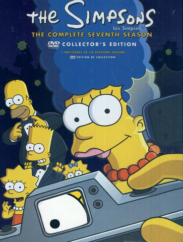 The Simpsons / Les Simpson - The Complete Seventh Season (Collector s Edition) (Boxset) DVD Movie