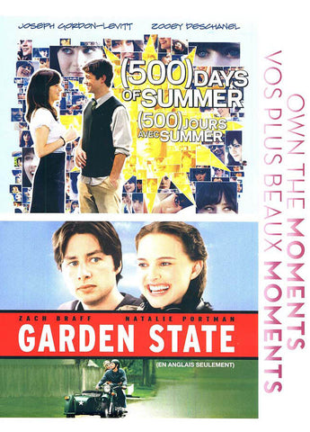 (500) Days of Summer / Garden State (Double Feature) (Bilingual) DVD Movie