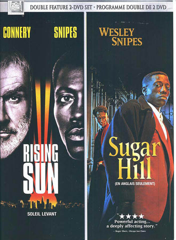 Rising Sun (Soleil Levant) / Sugar Hill (Double Feature 2 DVD Set)(Bilingual) DVD Movie