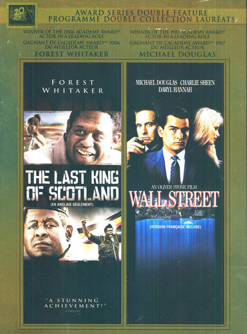 The Last King of Scotland / Wall Street (Fox Best Actor Double Feature) DVD Movie