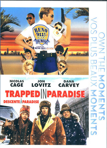 Reno 911!: Miami / Trapped in Paradise (Double Feature) (Bilingual) DVD Movie