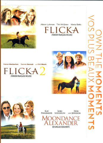 Flicka / Flicka 2 / Moondance Alexander (Bilingual) DVD Movie