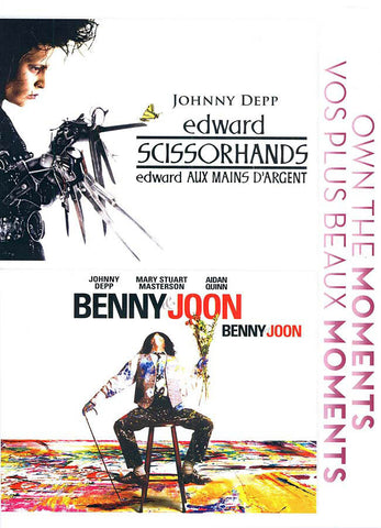 Edward Scissorhands/ Benny And Joon (Bilingual) DVD Movie