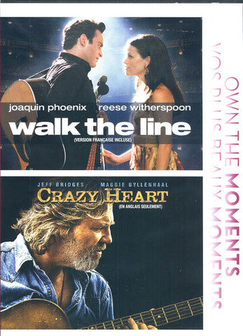 Walk TheLine / Crazy Heart (Bilingual) DVD Movie