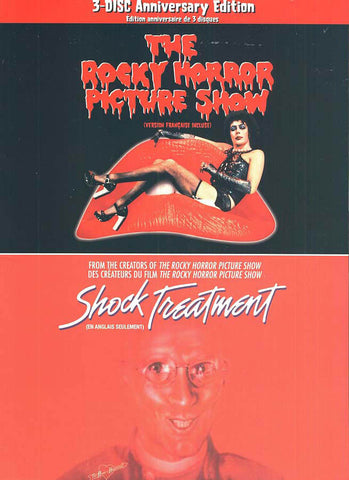 The Rocky Horror Picture Show / Shock Treatment (3-Disc Anniversary Edition) (Boxset) (Bilingual) DVD Movie