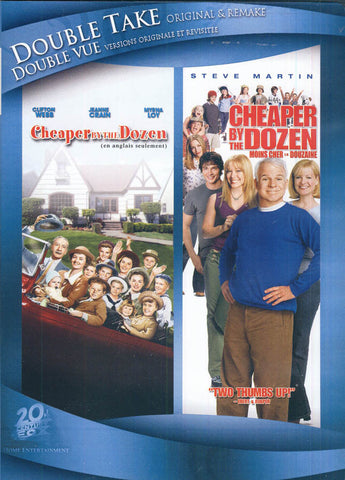 Cheaper By The Dozen (1950) / Cheaper By The Dozen (Double Take Original And Remake) (Bilingual) DVD Movie