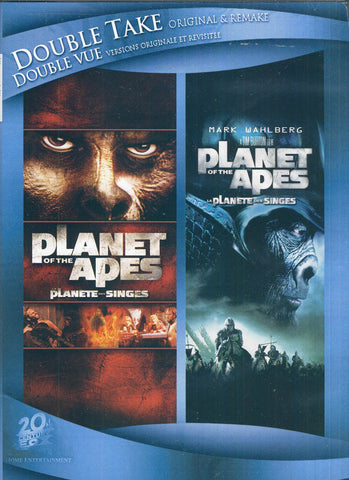 Planet Of The Apes (1968/2001) (Double Take Original and Remake) (Bilingual) DVD Movie