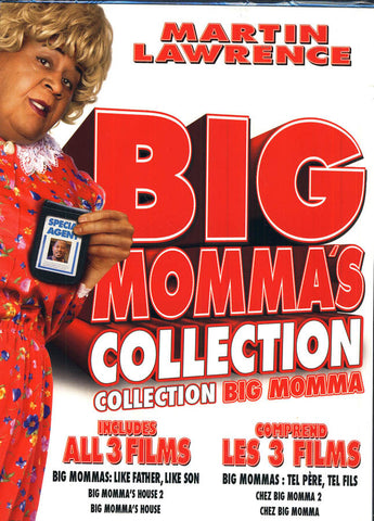 Big Momma's Collection (Collection De Big Momma) (Boxset) DVD Movie