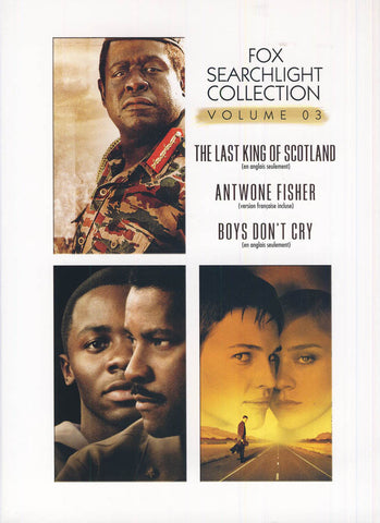 The Last King of Scotland/Antwone Fisher/Boys Don't Cry (Fox Searchlight Collection)(Bilingual)(Boxs DVD Movie