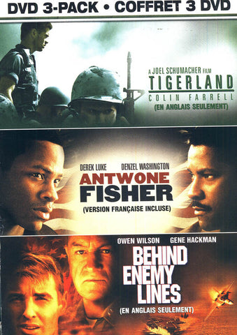 Tigerland/ Antwone Fisher / Behind Enemy Lines (Soldier's Pack) (Bilingual)(Boxset) DVD Movie