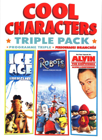 Cool Characters Triple-Pack (Bilingual) (Boxset) DVD Movie