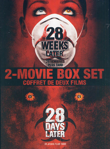 28 Days Later / 28 Weeks Later (Bilingual) (Double Feature)(Boxset) DVD Movie