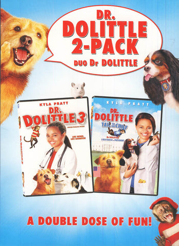 Dr. Dolittle 2-Pack (Bilingual) (Boxset) DVD Movie