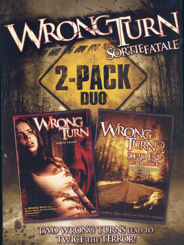 Wrong Turn 2- Pack Duo (Bilingual) (Boxset) DVD Movie