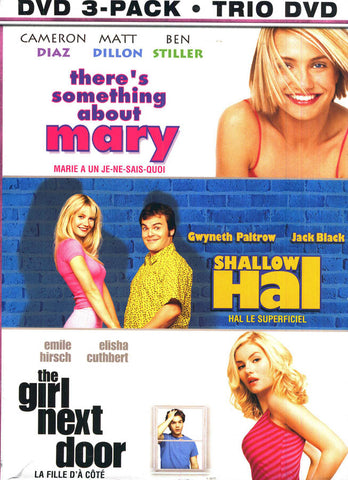 There's Something About Mary/Shallow Hal/ The Girl Next ..)(Dreamgirl 3-Pack)(Bilingual)(Boxset) DVD Movie