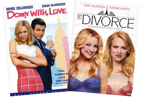 Down With Love / Le Divorce (2-Pack) (Boxset) DVD Movie