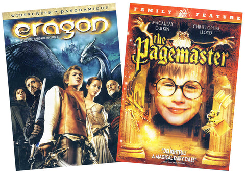 Eragon / The Pagemaster 2-Pack (Bilingual) (Boxset) DVD Movie
