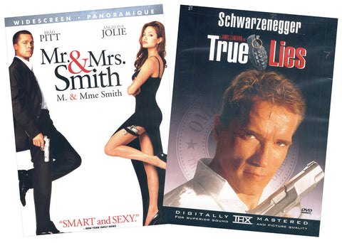 Mr. And Mrs. Smith / True Lies (Bilingual) (Boxset) DVD Movie