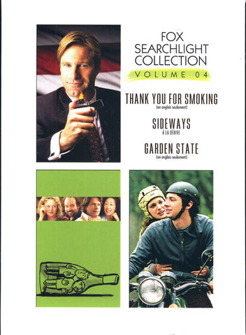 Thank You For Smoking/Sideways/Garden State (Fox Searchlight Collection)(Bilingual)(Boxset) DVD Movie