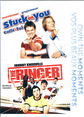 Stuck On You / The Ringer (Bilingual) DVD Movie