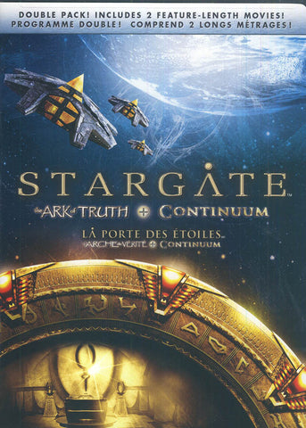 Stargate - The Ark Of Truth / Continuum (Bilingual) DVD Movie