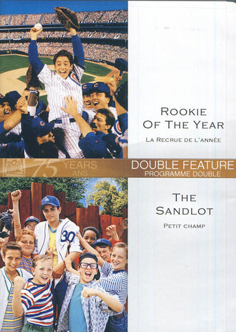 Rookie Of The Year / The Sandlot (Bilingual) DVD Movie