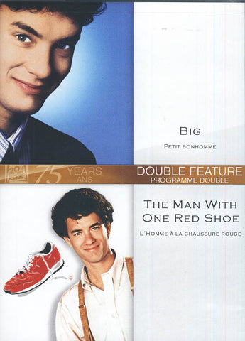 Big / The Man With One Red Shoe (Bilingual) DVD Movie