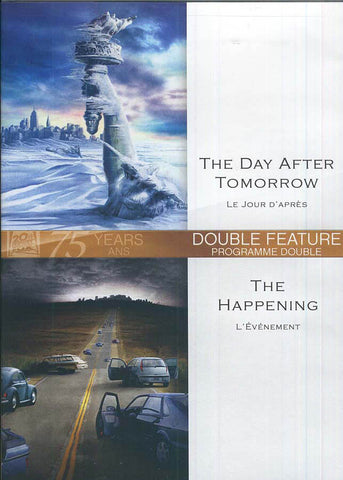 The Day After Tomorrow / Happening (Double Feature) (Bilingual) DVD Movie