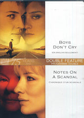 Boys Don't Cry/ Notes On A Scandal (Double Feature) (Bilingual)