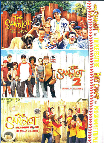 The Sandlot/ The Sandlot 2/ The Sandlot: Heading Home (Bilingual) (Boxset) DVD Movie