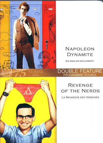 Napoleon Dynamite/Revenge Of The Nerds (Double Feature) (Bilingual) DVD Movie