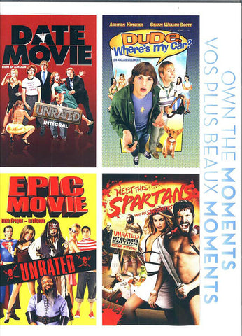 Date Movie /Dude, Where's My Car?/Epic Movie /Meet The Spartans (Bilingual) (Boxset) DVD Movie
