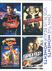 Road House/ Bandidas/ Big Trouble in Little China/ Speed 2 Cruise Control (Bilingual)(Boxset)
