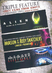 Alien/Invasion Of The BodySnatchers/Lifeforce (Triple Feature) (Bilingual)