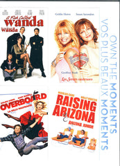 Fish Called Wanda/Overboard/Raising Arizona /Banger Sisters (Bilingual)(Boxset)