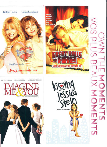 Bangers Sisters/Great Balls Of Fire/Imagine Me and You/Kissing Jessica Stein (Bilingual)(Boxset) DVD Movie