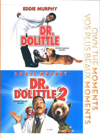 Dr. Dolittle / Dr. Dolittle 2 (Bilingual) DVD Movie