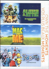 Aliens in the Attic/Mac and Me/Robots (Triple Feature)(Bilingual)