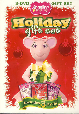 Angelina Ballerina - Holiday Gift Set (Boxset) DVD Movie