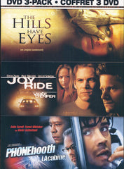 The Hills Have Eyes/ Joy Ride/ Phone Booth (Thrills And Chills 3-Pack) (Bilingual)(Boxset)