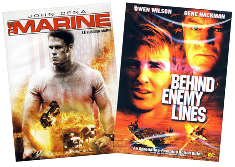 Marine / Behind Enemy Lines (2- Pack) (Bilingual) (Boxset) DVD Movie
